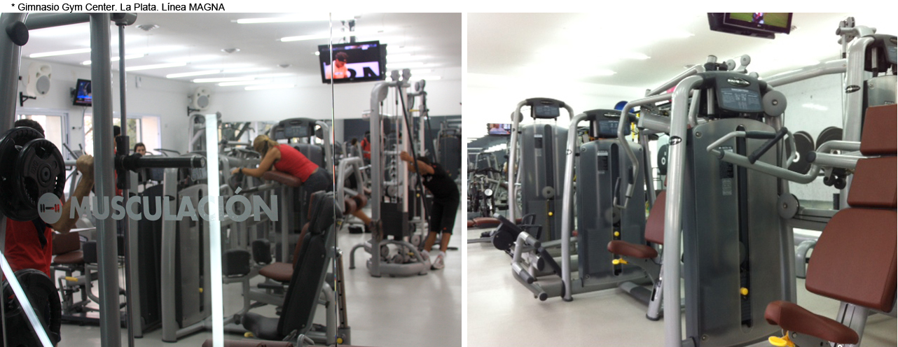 Gimnasio Gym Center - La Plata - Línea MAGNA