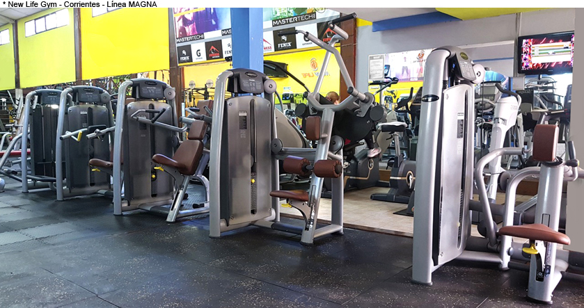 New Life Gym - Corrientes - Línea MAGNA