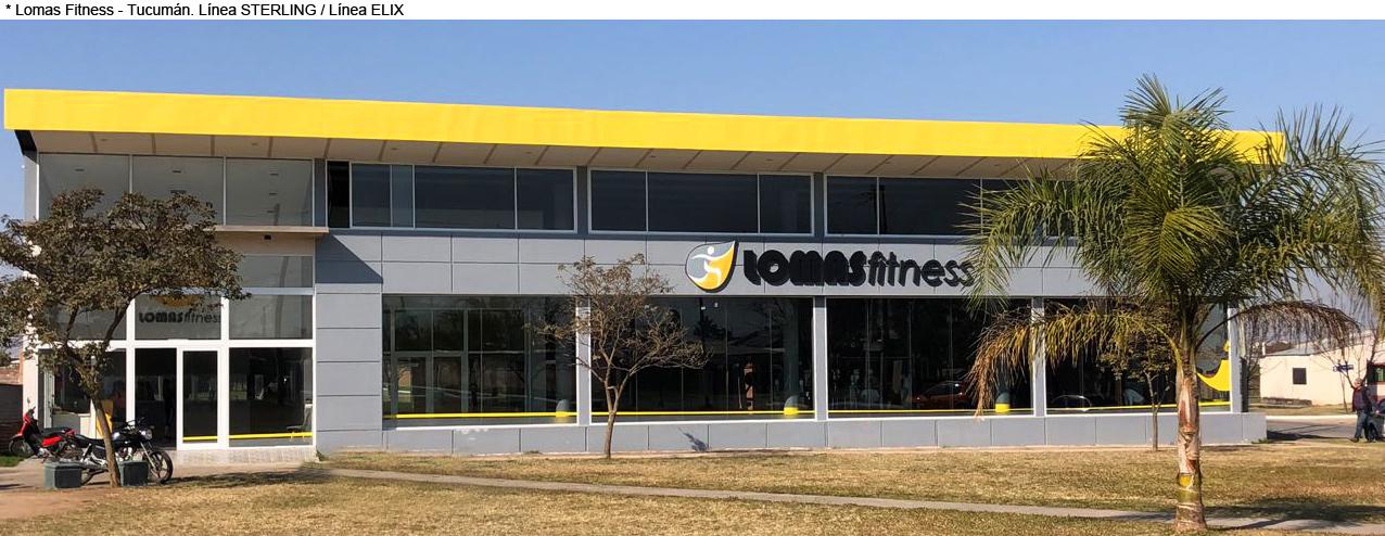 Lomas Fitness - Tucumán - Línea STERLING / Línea ELIX
