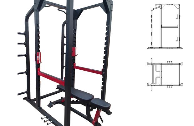 STERLING 7015 - Rack de Fuerza