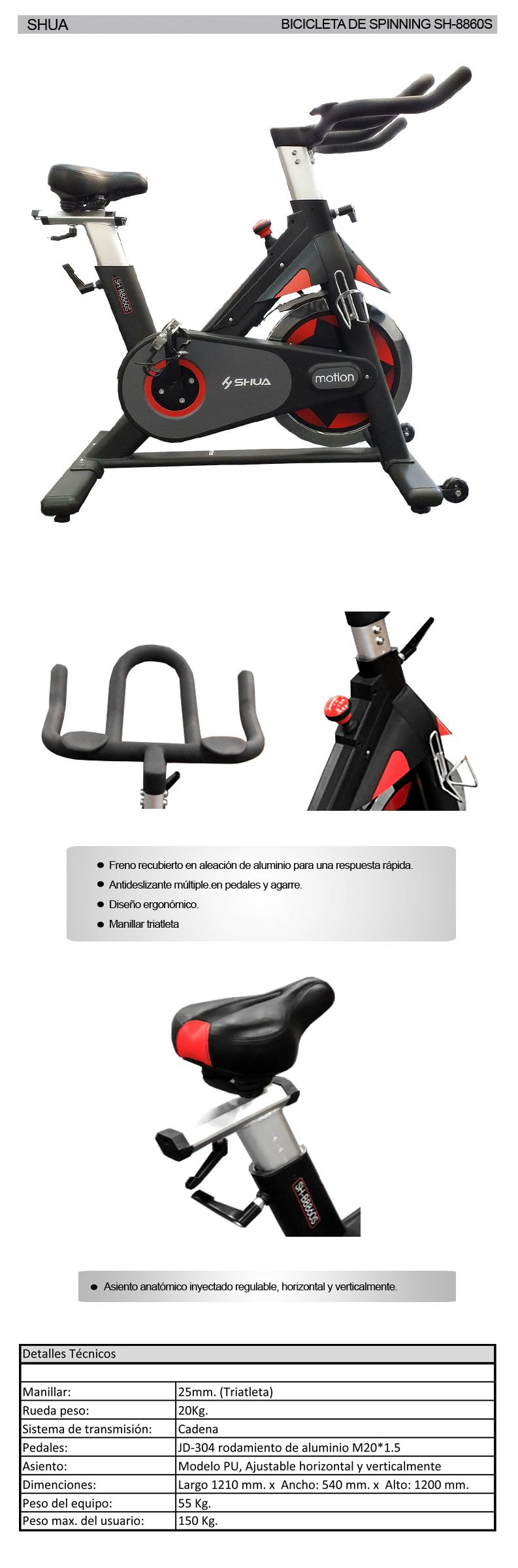 B8860S - Bicicleta de Indoor